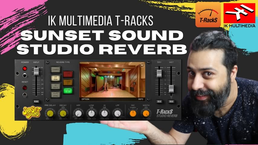 IK Multimedia Sunset Studio Reverb