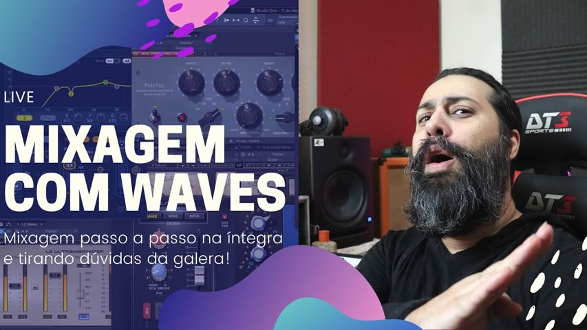 Mixagem com plugins da Waves [DOWNLOAD MULTITRACKS]