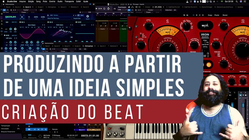 Produzindo Música a partir de uma simples ideia