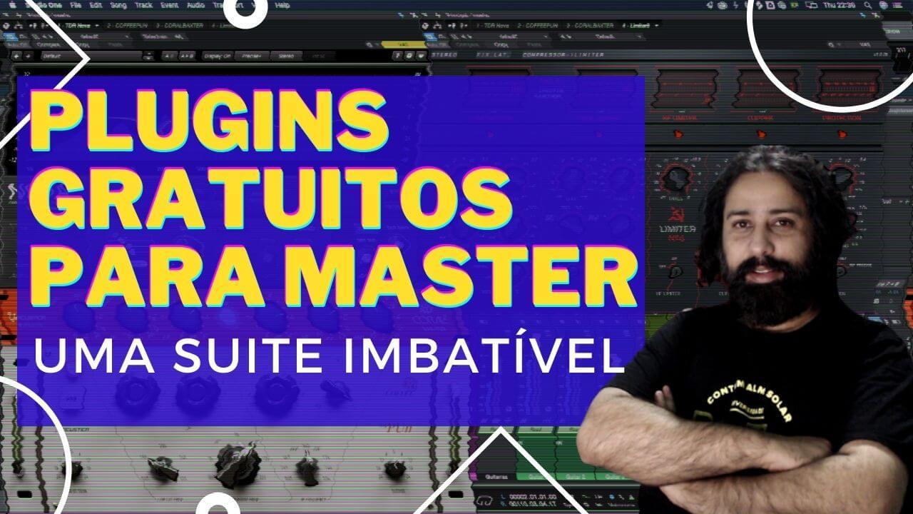 Suite poderosa de Masterização Gratuita