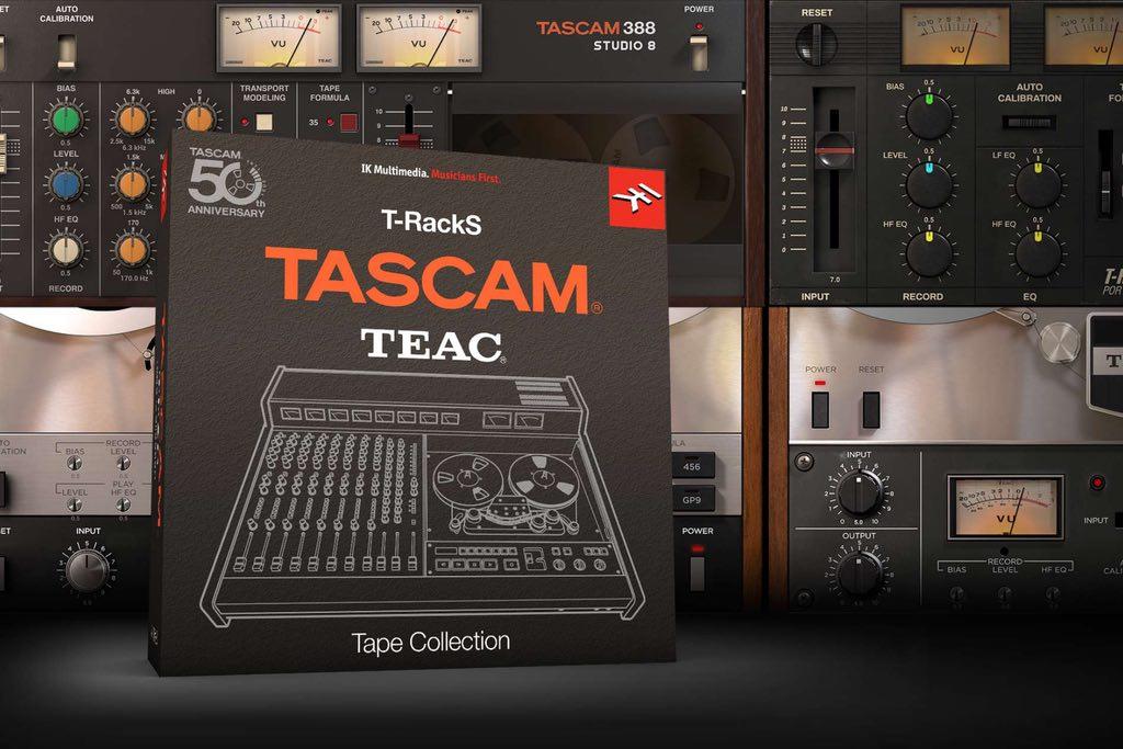 IK Multimedia lança: T-RackS TASCAM Tape Collection