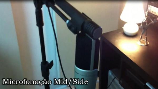 Microfonação Mid/Side