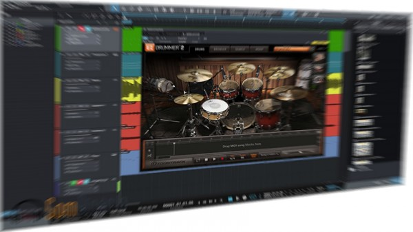 Studio One 3 - Canais do Ezdrummer